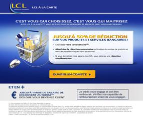 Ouvrir un compte LCL